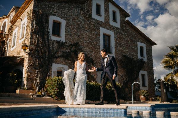 Leah & Mario - Barcelona Wedding {Almiral de la Font}